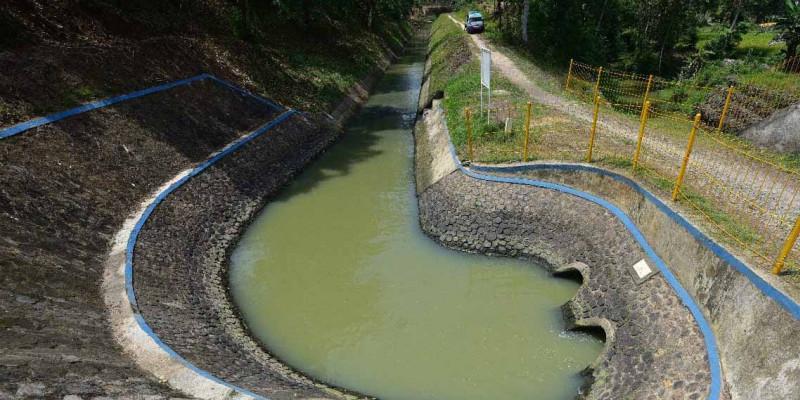 Kementerian PUPR Tingkatkan Sistem Irigasi Way Tebu di Lampung Peninggalan Kolonial Belanda