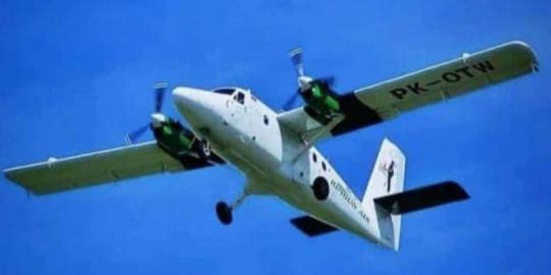 Satgas Mamba Temukan Pesawat Rimbun Air yang Jatuh di Sugapa