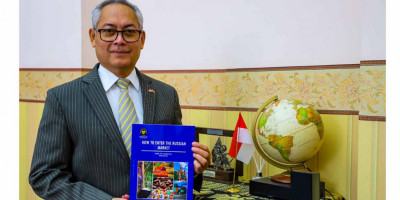 KBRI Moskow Rilis Buku Akses Pasar Rusia Bagi Pebisnis Indonesia
