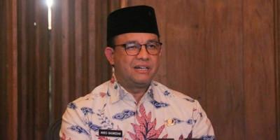 Anies Mengaku Sedang Siapkan Grand Design Pengendalian Kualitas Udara Jakarta
