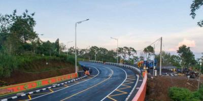 Kementerian PUPR Lanjutkan Pembangunan Jalan Pintas Mengwitani-Singaraja