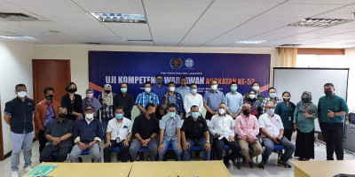 UKW Angkatan ke-52 PWI Jaya, 100 Persen Peserta Dinyatakan Kompeten