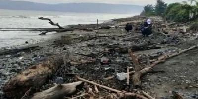 Mengerikan, Perairan Laut Provinsi Lampung hingga Pandeglang Tercemar Limbah Oli