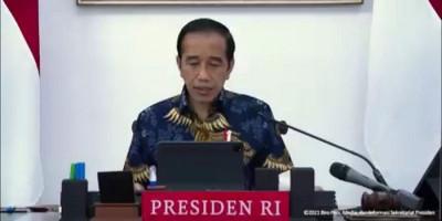 Jokowi: Kita Merindukan Kehidupan dalam Suasana yang Normal