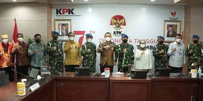 KPK dan TNI Perkuat Sinergisitas Pemberantasan Korupsi