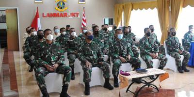 Lanmar Jakarta Mengikuti Doa Bersama Lintas Agama Secara Virtual