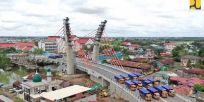 Kementerian PUPR Siap Laksanakan Arahan Presiden Jokowi untuk Uji Coba Operasional Jembatan Sei Alalak
