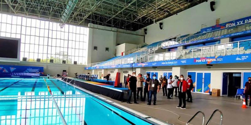 Stadion Renang Aquatic Papua Termegah dan Terbaik di Indonesia