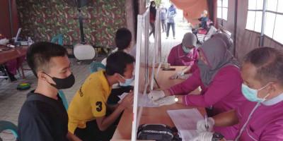 Rumkitalmar Lanmar Surabaya Laksanakan Kegiatan Vaksinasi