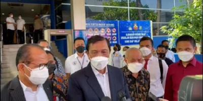 Serahkan 12 Bukti ke Polisi, Begini Kata Luhut Usai Diperiksa di Polda Metro Jaya