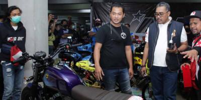Kreasi Motor Antik Karya Anak-anak Muda Pukau Pimpinan MPR