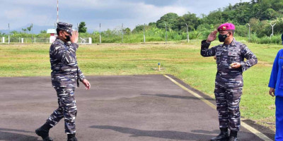 Kasal Akan Tinjau Bhaksos Korps Marinir Di Tasikmalaya