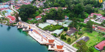 Kementerian PUPR Rampungkan Sejumlah Infrastruktur di Kawasan Wisata Danau Toba