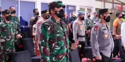 Panglima TNI dan Kapolri Tinjau Kesiapan Pengamanan PON XX Papua Jelang Pembukaan