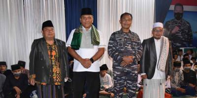 Wakasal Didampingi Dankormar Kunjungi Ponpes Ma'ruful Hidayah