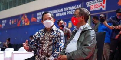 Tinjau PON Papua, Mahfud MD : Pengamanan Sudah Diantisipasi