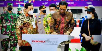 Presiden Jokowi Resmikan Tujuh Venue PON XX Papua di Stadion Lukas Enembe