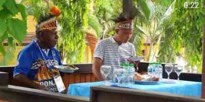 Tiba di Papua, Ganjar Pranowo Disambut Drawa dan Putra-Putri Papua