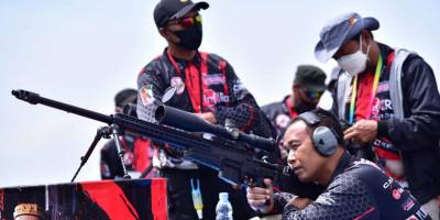 Di Gunung Cilik Wonosobo Jateng, Dankormar Buka Lomba Menembak Grand Prix Seri ke 4