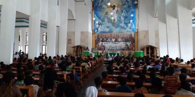 Uskup Timika Akan Tahbis Tiga Diakon Jadi Imam