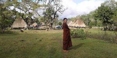 Pesona Wisata dan Rumah Adat di Kampung Kawa NTT, Suasana Sejuk Nan Asri di Ketinggian 600 MDPL