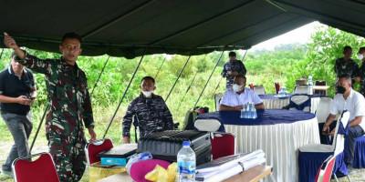 Persiapan Regu Aju Marinir Pastikan  Latihan Pendaratan Di Babel Akan Lancar