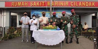 Danrumkitalmar Cilandak Peringati Hari Kesehatan TNI  AL Tahun 2021