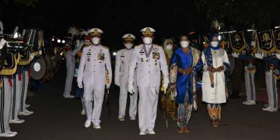 Dankormar Hadiri Wisuda Purna Wira TNI AL 2021
