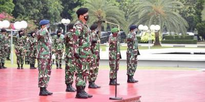 Panglima TNI Terima Laporan Korps Kenaikan Pangkat 60 Perwira Tinggi, Ini Daftarnya