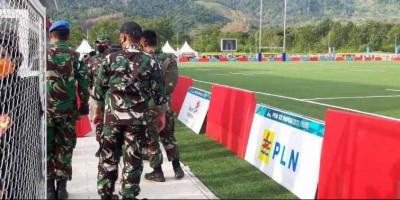 Pengamanan Final Rugby Antara Papua vs DKI Jakarta Diperketat