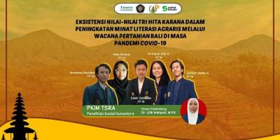 5 Mahasiswa Universitas Brawijaya Gelar Penelitian Literasi Agraris Petani Bali