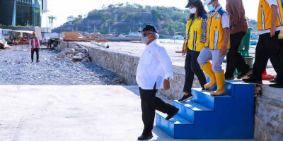 Menteri Basuki Targetkan Penataan Marina Selesai Pertengahan November 2021