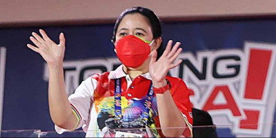 Puan Ucapkan Selamat untuk Jabar Juara Umum PON Papua