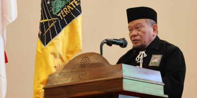 Dikukuhkan Jadi Warga Kehormatan Utama, Ketua DPD RI Puji PSHT Konsisten Non Partisan