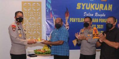 PON XX Papua Sukses, Kapolda Papua Pimpin Acara Syukuran